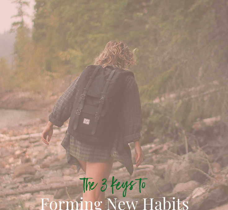 The 3 Keys to Forming New Habits