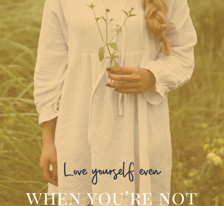 Two Words That Are Holding You Back from Loving Yourself